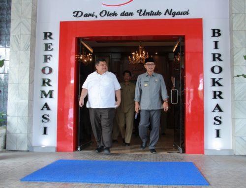 Deputi Kunwas RB  Kunjungi Ngawi, Minta Ubah Pola Pikir ASN